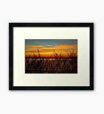 Alki Sunset Framed Print