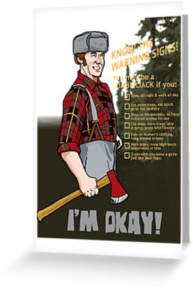 Lumberjack warning! by Firepower