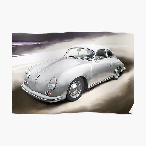 Porsche 356 A Coupe Poster