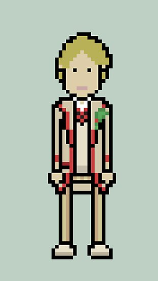 Fifth Doctor by willboes
