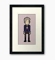 Third Doctor Framed Print