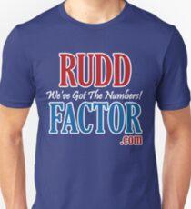 Rudd Factor Unisex T-Shirt