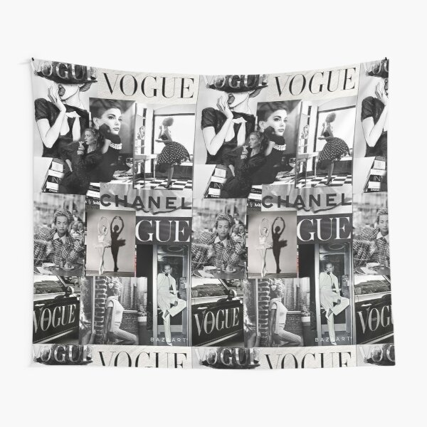 black and white vogue aesthetic  Tapestry