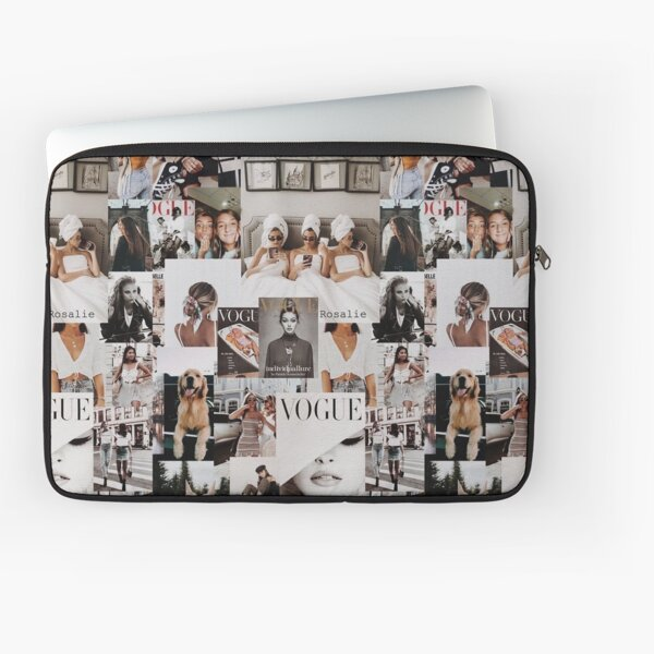 vogue collage aesthetic  Laptop Sleeve