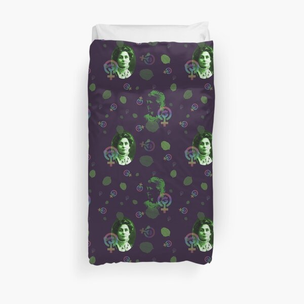 Suffragettes in purple Duvet Cover