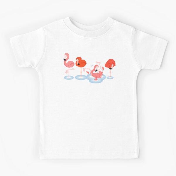 Flamingos Kids T-Shirt