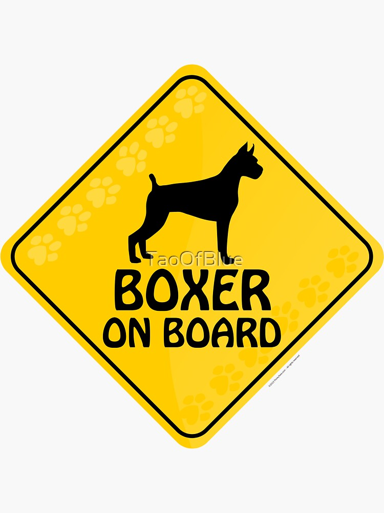 Boxer On Board by TaoOfBlue