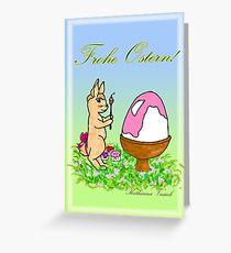 Osterhäschen Greeting Card