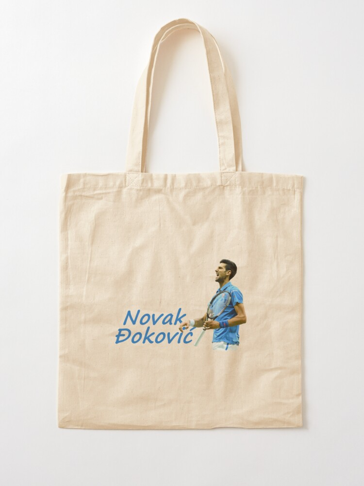 Novak Djokovic Tennis Player From Serbia Tote Bag By Keepchoice Redbubble