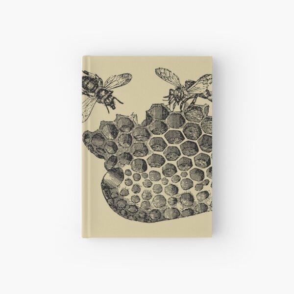 Vintage Bee & Honeycomb Hardcover Journal
