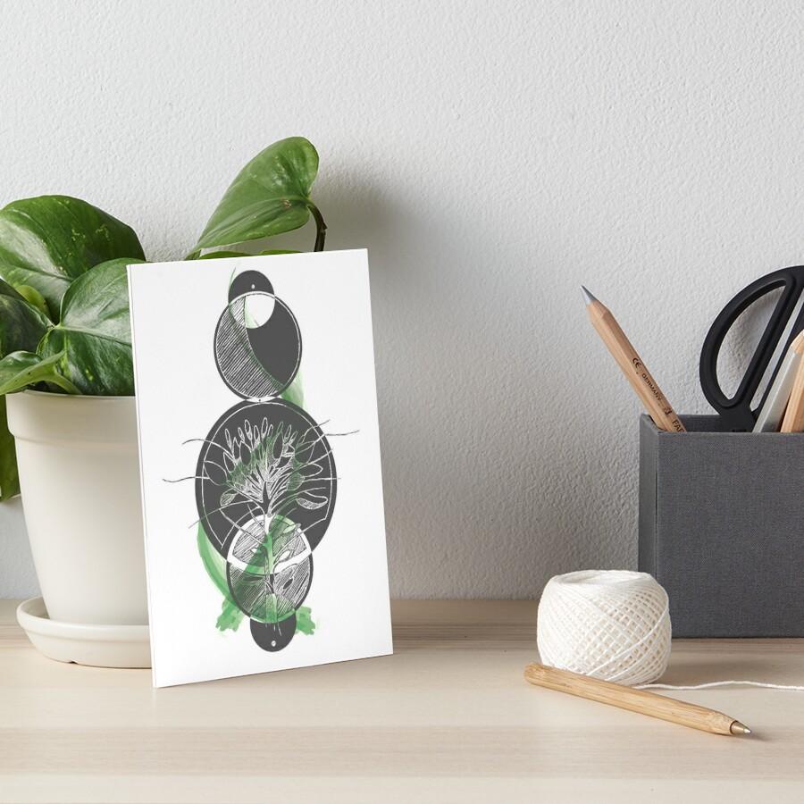 Floral Graphics Galeriedruck