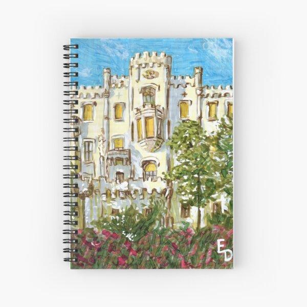 Hluboká Castle Spiral Notebook