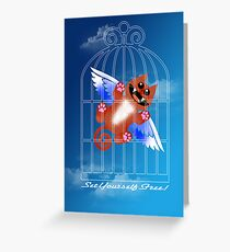 SET YOURSELF FREE! (card) Greeting Card