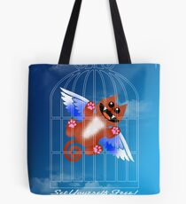 SET YOURSELF FREE! (card) Tote Bag