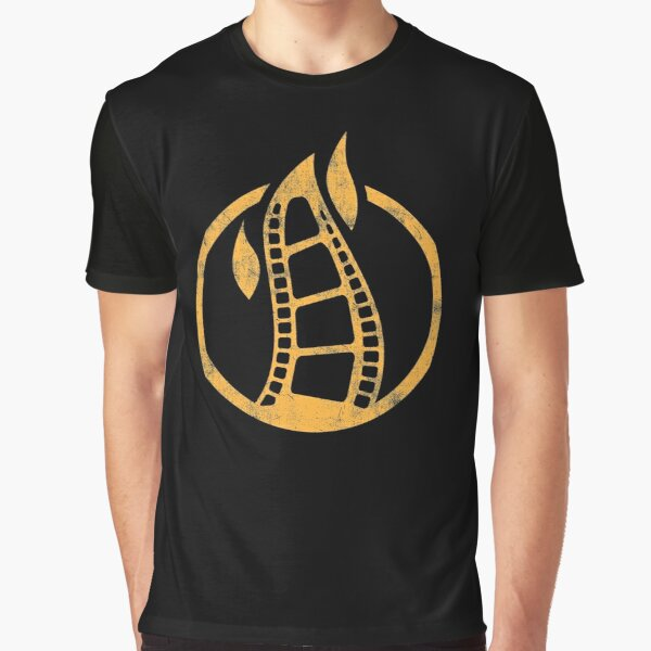 Firepit Cinema large icon Graphic T-Shirt