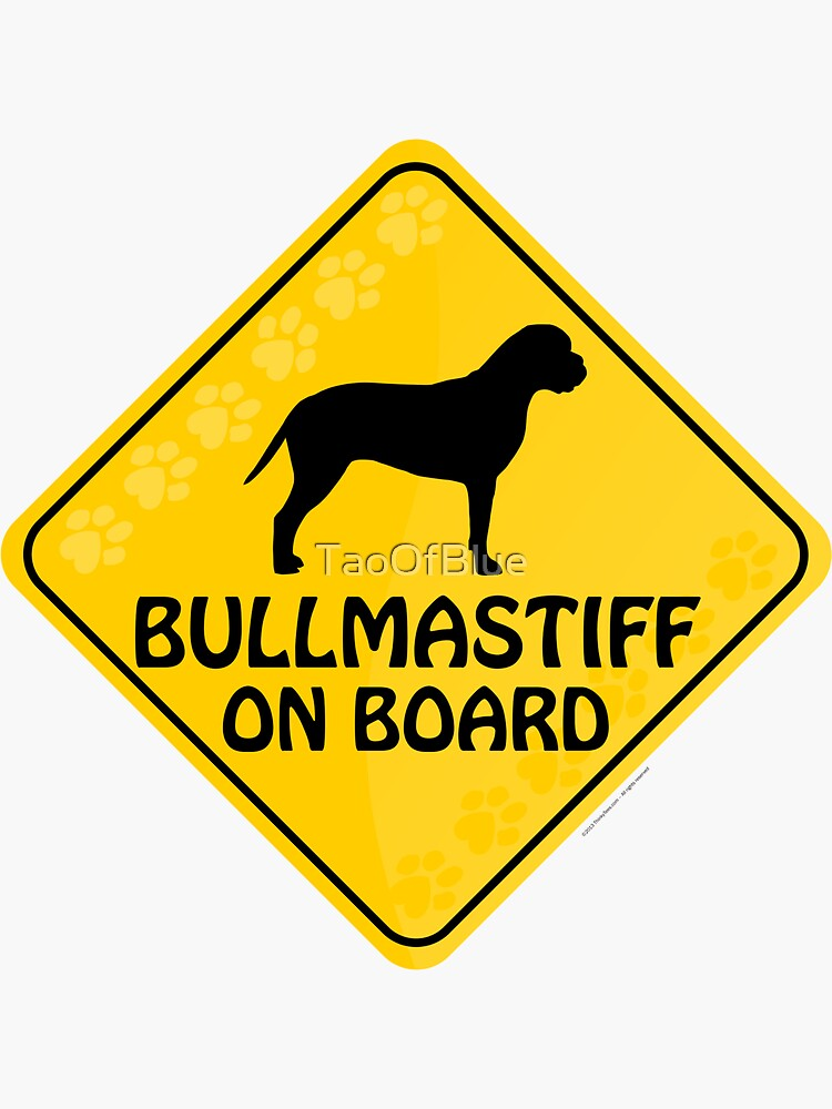 Bullmastiff On Board by TaoOfBlue