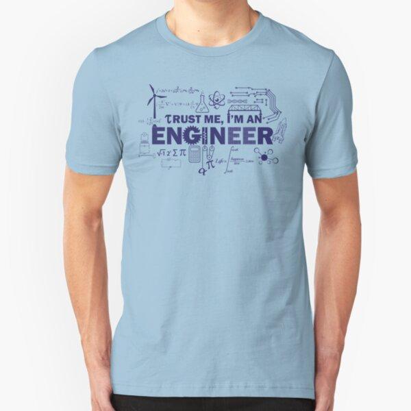 Yeah, I'm An Engineer Slim Fit T-Shirt