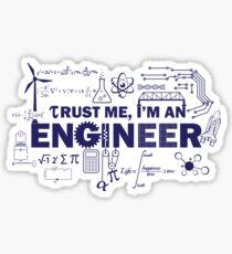 Yeah, I'm An Engineer Sticker