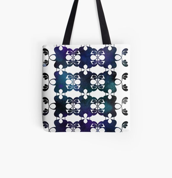 Abstract Symmetry / Pattern II. All Over Print Tote Bag