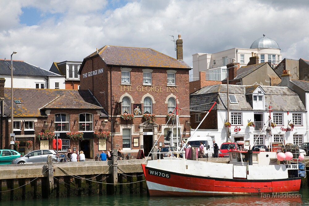 Weymouth harbour by Ian Middleton