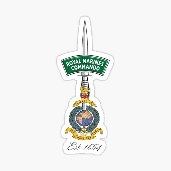 Royal Marine Commando - Est 1664 Sticker