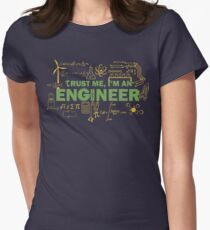 Science Engineer Humor Women's Fitted T-Shirt