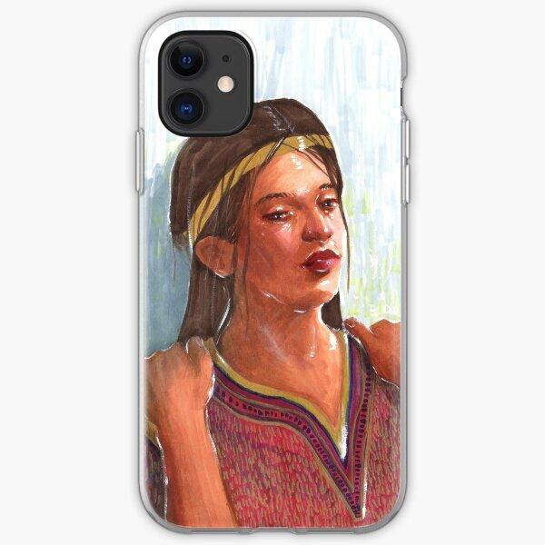 Calming the Queen iPhone Soft Case
