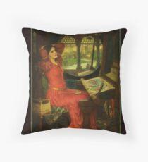 Pre Raphaelite Throw Pillow