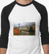 Mont Tremblant in Autumn ! Men's Baseball ¾ T-Shirt