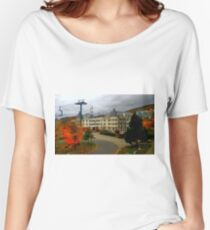 Mont Tremblant in Autumn ! Women's Relaxed Fit T-Shirt