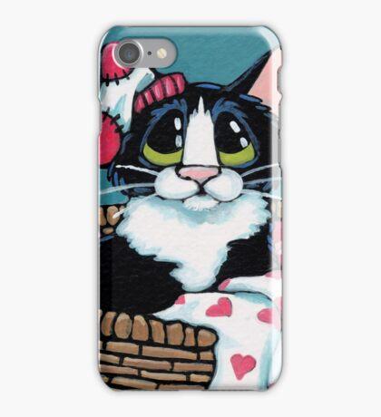 In a Love Basket iPhone Case/Skin