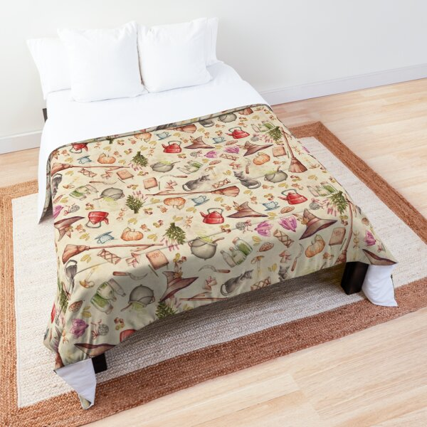 FOLK WITCH ELEMENTS Comforter