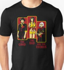 The Good, The Bad and the Vicious Unisex T-Shirt