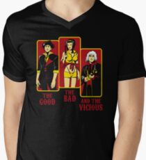 The Good, The Bad and the Vicious Men's V-Neck T-Shirt