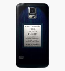 Police Box Case/Skin for Samsung Galaxy