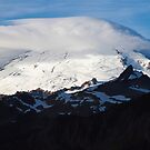 Mt. Baker Lenticular Cloud by Barb White
