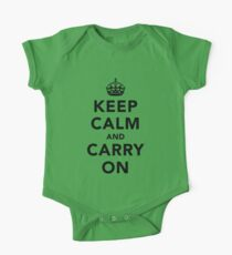 Keep Calm and Carry On - Light Kids Clothes
