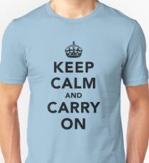 Keep Calm and Carry On - Light T-Shirt