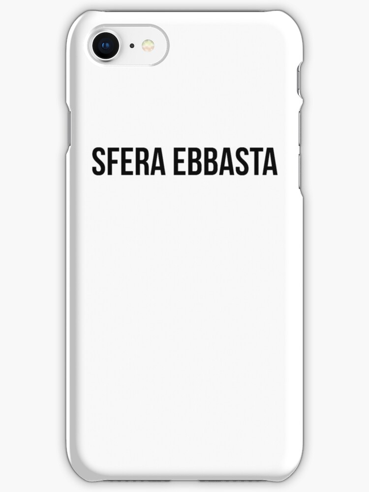 cover iphone 7 sfera ebbasta