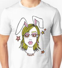 FLUFFY BUNNY (girl) Unisex T-Shirt