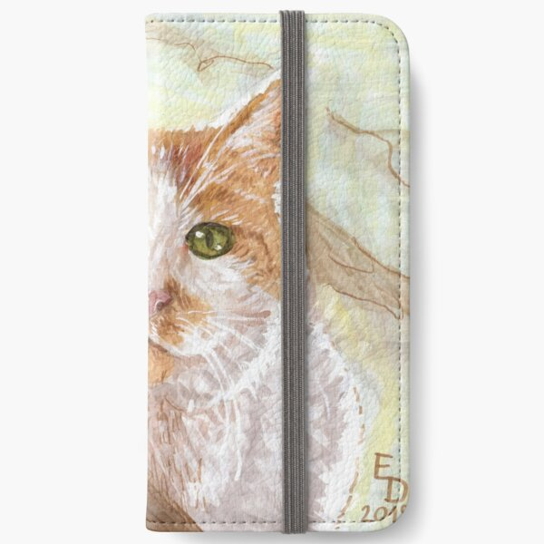 Cat In A Tree iPhone Wallet