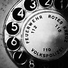 telephone dial by Falko Follert