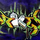 Brussels graffiti by Patrick Reinquin