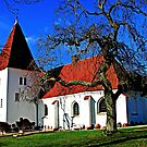 Aunede Kirke by hans p olsen