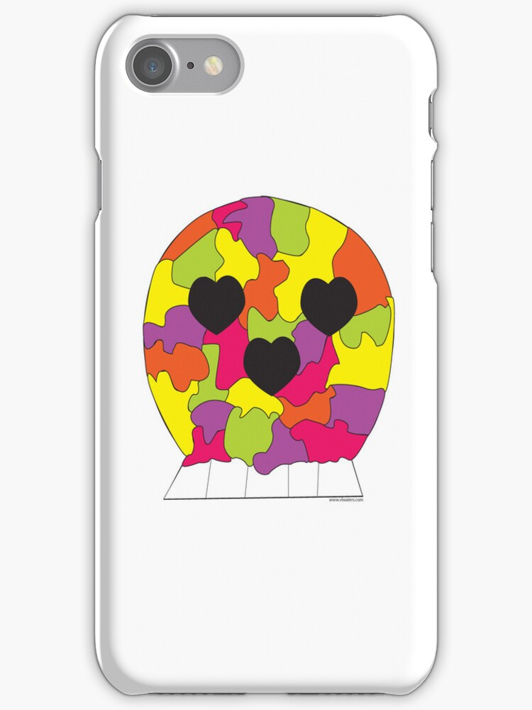 Puzzle Skull by ValeriesGallery