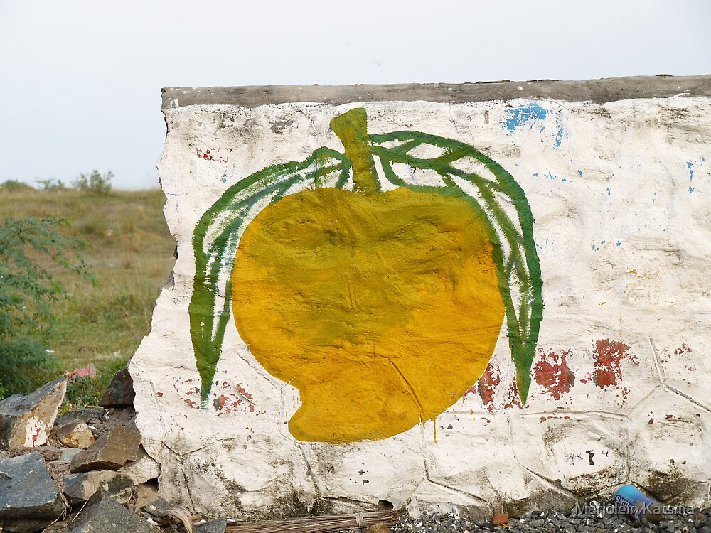 Juicy mango (1) by Marjolein Katsma