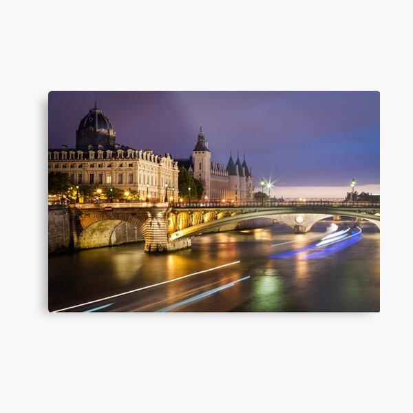 Palais de la Cité à Paris Impression métallique