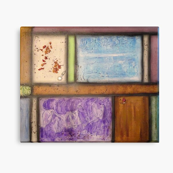 Pastel with vial Canvas Print