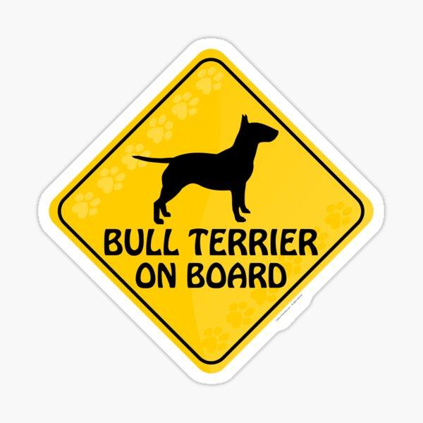 Bull Terrier On Board Sticker