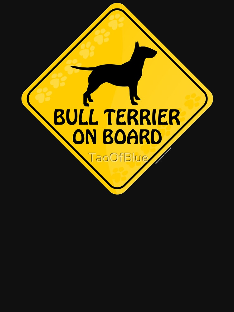 Bull Terrier On Board by TaoOfBlue